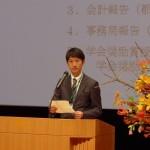 学会奨励賞受賞者 石田智範会員